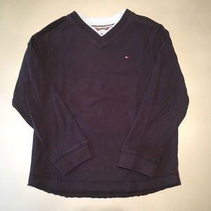 Tommy Hilfiger LS V-Neck Heavy T-Shirt
